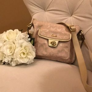 Coach monogram crossbody